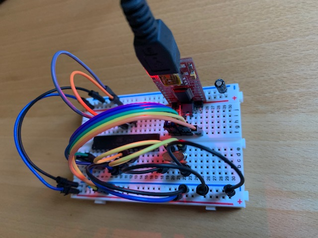Photo Arduino minimal avec FTDI