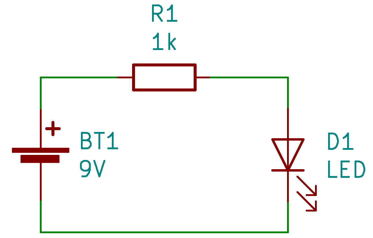 exemple de circuit électronique
