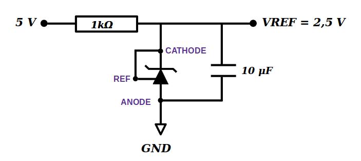 TL431 avec condensateur entre VREF et GND
