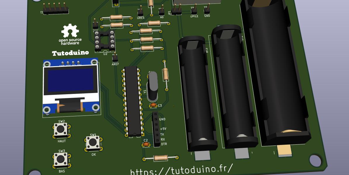 PCB testeur accus NiMH Li-Ion 16850