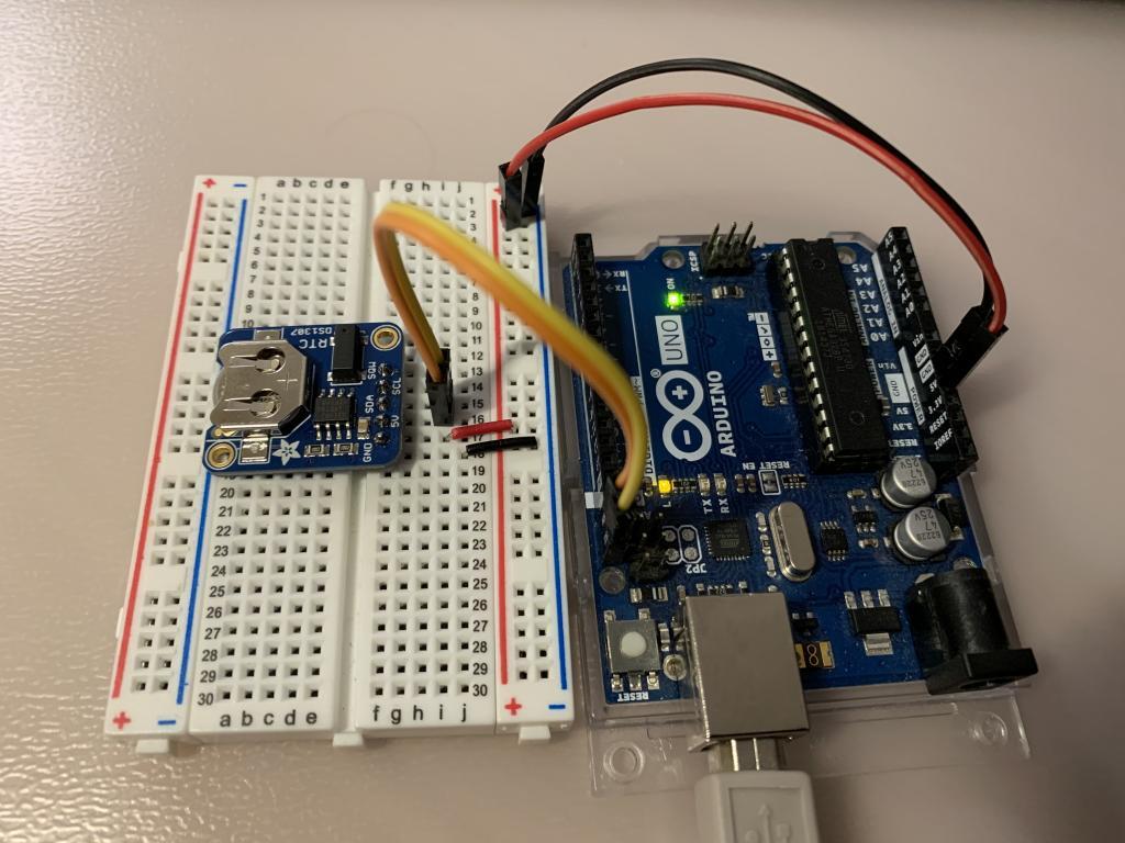 Module RTC Arduino Uno