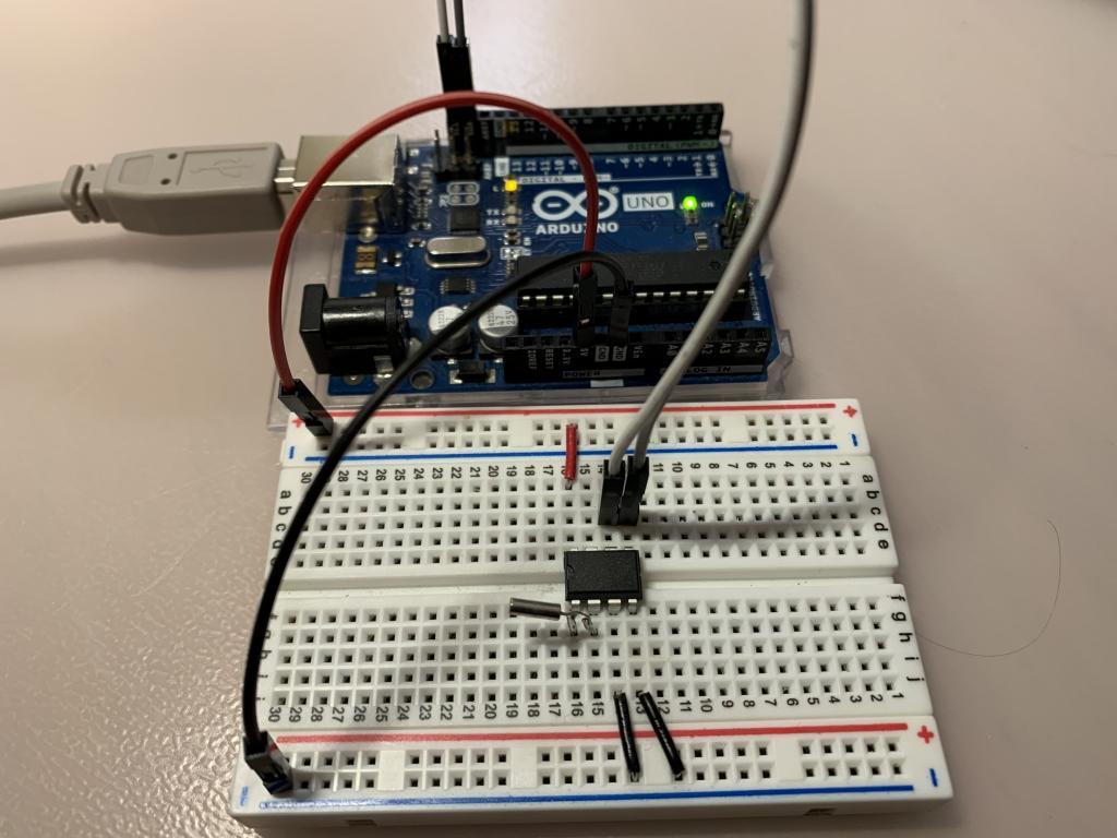 DS1307 relié à un Arduino