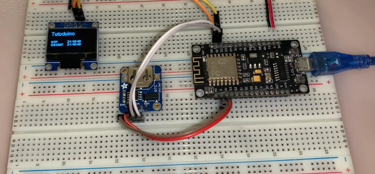 Mesure dérive DS3231 avec un NodeMCU ESP8266